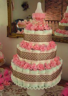 Diaper cake oh-baby
