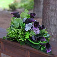 Begonia, Casket, Funeral, Greenery, Flower Arrangements, Succulents, Gardening, Flowers, Plants