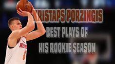 Kristaps Porzingis Best Plays of Rookie Season