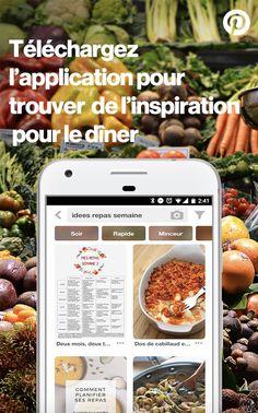 Trouvez des inspirations et idées pratiques pour tous vos projets au quotidien sur l'application Pinterest.