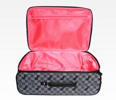 Hello Kitty Rolling Travel Case: Grid