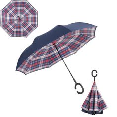 Windproof Reverse Double Layer Inverted Umbrella Reverse Windproof Umbrella - New Designs Additional Designs Available Now... Save Over 50% While Stocks Last! Description: Inside out design. It adds a nice twist to our classic umbrella by turning inside out. #Windproofumbrella  Windproof Reverse Double Layer Inverted #Bestumbrella - #BigStarTrading