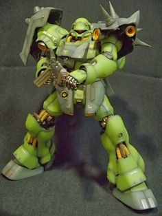 MG 1/100 AMS-119 Geara Doga: Good Paint Job by じろうX Photoreview Wallpaper Size Images
