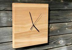 Reloj de pared madera por BAwoodLV en Etsy