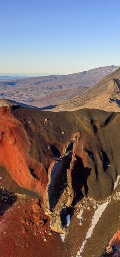 Tongariro National Park, Central North Island, New Zealand