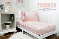 Styled for Toddlers – Beddy's Beddys Bedding, Zipper Bedding, Big Girl Rooms, Kid Rooms, Shabby Chic Pink, Make Your Bed, Kid Beds, New Room, Bedroom Decor