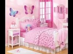 Your daughter will love a room filled with color, patterns, and cute accessories! Click through to find oh-so-pretty bedroom decorating ideas for girls of all ages.
