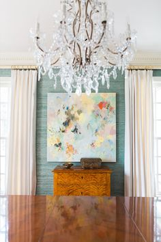 Dining Room Ideas Grasscloth Wallpaper Dining Room Ideas How Much Do Hardwood Floors Cost? Grasscloth Dining Room, Dining Room Wallpaper, Dining Room Art, Dining Room Blue, Of Wallpaper, Dining Room Design, Dining Room Furniture, Art Deco Kitchen, Dining Room Inspiration