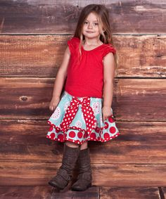 'Love' Top & Claire Skirt - Infant, Toddler & Girls #zulily #ad *this collection is too cute
