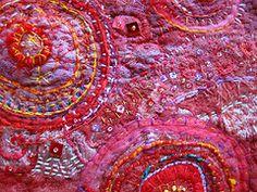 Pomegranate jam by Jane LaFazio #embroidery #hand_stitching #handmade #crafts