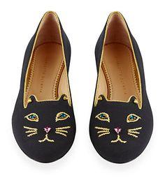 Charlotte Olympia Jewelled Kitty Flat £795