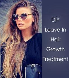 DIY hair growth treatment