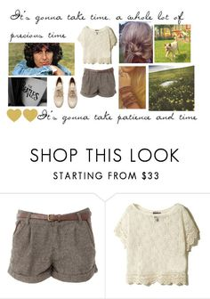 """""""Day 28 - Got My Mind Set On You"""" by ballerinahippie on Polyvore featuring H&M and INDIE HAIR"""