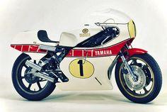 1978 Yamaha YZR500 racing motorcycle