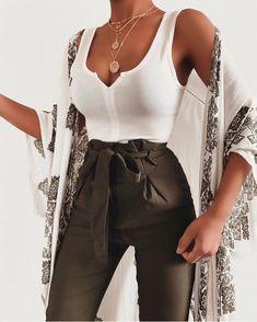Fashion-Outfits & Style-Ideen für den Sommer-Look – My Fashion Board – – Brenda O. Fashion outfits & style ideas for the summer look – My Fashion Board – # … – … Mode Outfits, Fashion Outfits, Fashion Tips, Fashion Ideas, Fashion Hacks, Party Outfits, Kimono Fashion, Outfit Stile, Top Mode