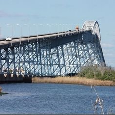 RAINBOW BRIDGE IN TEXAS - bridge over the Neches River connecting Port Arthur and Orange County with a slope of 5%