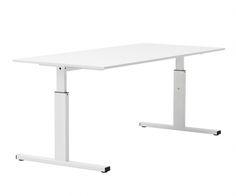 T-Basic est une gamme de bureau avec une hauteur ajustable entre 62 et 85 cm. #kinnarps #twinform #tbasic