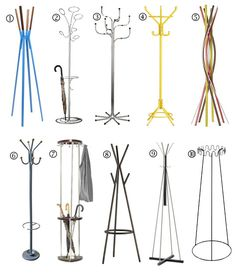 Best Coat Racks & Coat Trees 2012 Apartment Therapy's Annual Guide  - check out #2 from chiasso