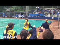UCLA Softball vs Cal Softball - Rain Delay Dance-Off - YouTube