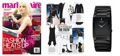 @Marie Claire features our Stiletto Blade in their June issue for the black and white feature! #unstoppable #springfashion #springtrends #blackandwhite #fashionista