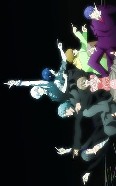 Crossover Tokyo Ghoul and Death Parade (both amazing animes/mangas) I didn't even notice this was a crossover at first lop