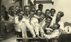 Haus party … students at the Bauhaus in 1931. Photograph: Stiftung Bauhaus Dessau