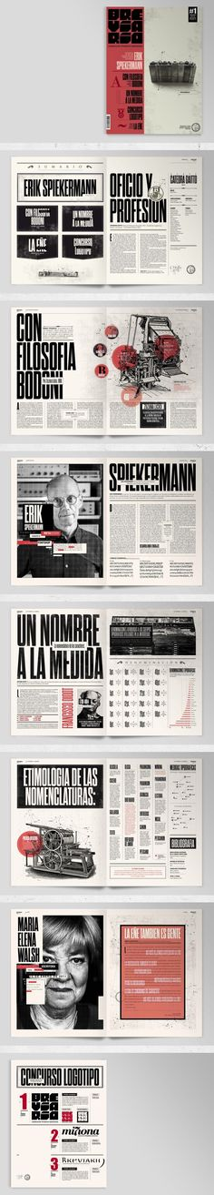 What a grid! Breviario Magazine by Boris Vargas Vasquez