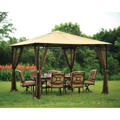 Living Accents Mosquito Netting 10' X 10' Brown LIVING ACCENTS http://www.amazon.com/dp/B00B85T4R6/ref=cm_sw_r_pi_dp_30Gwvb0T9P1Y3