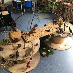 The little world of dinosaurs is ready for our new reception children, who start on Monday . The little world of dinosaurs is ready for our new reception children, who start on Monday . Eyfs Activities, Nursery Activities, Dinosaur Activities, Preschool Activities, Reggio Classroom, Outdoor Classroom, Classroom Displays, Reception Classroom Ideas, Physics Classroom