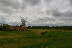 Windmill at Cley-next-the-sea, Norfolk. Take with  Canon 7D, F16, 22mm, 1/200 second By Amanda Edwards.