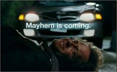 The Allstate mayhem man