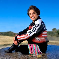 Olympic Gold Medalist Mary Lou Retton photographed on October 27, 2000 in Houston, TX.