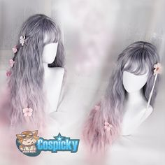 Gradient Lolita Long Curl Wig CP168153