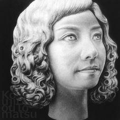 女59  Woman 59 - marble Revision by elpoeptac, via Flickr