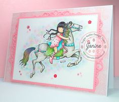 - Hello Sugar Fans - Good morning everyone! Sorry for my late Sugar Nellie post, but you know what it& like.sometimes life just. Unicorn Horse, Horse Crafts, Running Away, Kids Cards, Little Red, What Is Like, Homemade Cards, Cardmaking, Birthday Cards
