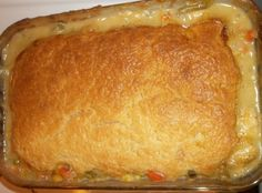 Melt In Your Mouth Chicken Pot Pie Recipe