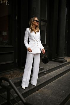 Spring Must-Have: The White Linen Suit   MEMORANDUM   NYC Fashion & Lifestyle Blog for the Working Girl