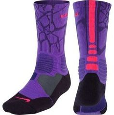 Nike LeBron HyperElite Crew Basketball Sock - Dicks Sporting Goods #basketballclothes