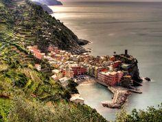 Delizie il pirata, Cinque Terre Italy