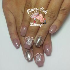 Acrilico nude #3 de la coleccion #kimerasnails  de venta en 1/2 oz Diseño de salón 💅 👑 😍 😄💄 #kimerasnails #nails #uñas #acrylicnails #nude #sculturenails #prettynails #naturalnails #glitter #acrilicodecolor #naildesign #silk #AcrilicosAtacantes #ManoAlzada #3d #3dnails #laquerpro #makeup