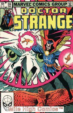 DOCTOR STRANGE (1974 Series) (MARVEL) (DR. STRANGE) #59 Near Mint Comics Book