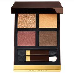 Shop TOM FORD's Eye Color Quad Eyeshadow Palette at Sephora. This palette of coordinated eyeshadows is designed to create soft or bold looks. Eyeshadow Looks, Eyeshadow Palette, Makeup Palette, Sephora Eyeshadow, Quad, Beauty Makeup, Eye Makeup, Makeup Stuff, Beauty Bar