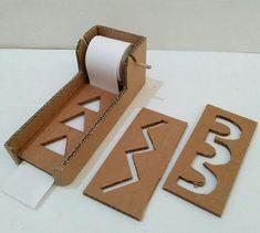 Diy Cardboard Maze prewriting For your writing skill...