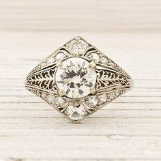 1.05 Carat Old European Cut Diamond