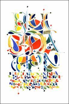 DesertRose,;,calligraphy art,;;Thomas Ingmire,;,
