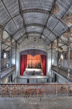 Abandoned theater. Built around 1900 located in turnhout Belgium