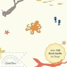 Birch Fabrics Jersey Beyond The Sea Main Meer bunt von LottiKlein auf DaWanda.com
