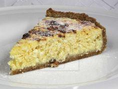 Medovo tvarohový koláč Czech Recipes, Vanilla Cake, Banana Bread, French Toast, Dessert Recipes, Yummy Food, Sweets, Breakfast, Czech Food