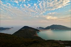 TOMMY AU PHOTO posted a photo: View of High Island Reservoir East Dam and Long Ke Wan in Sai Kung, Hong Kong