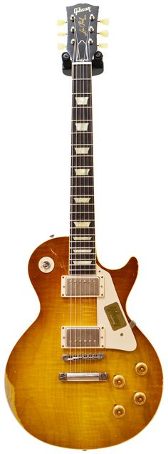 Gibson Custom Shop 1959 Les Paul Reissue Heavy Aged Made 2 Measure Hand Picked Dirty Lemon Burst w/Stinger #941396 Main Product Image